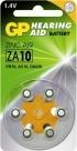 GP ZA10 Hoorapparaat batterij (geel)