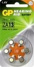 GP ZA13 Hoorapparaat batterij (oranje)