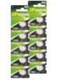 M-battery aanbieding: GP knoopcel batterijen. Tien stuks voor slechts € 9,95